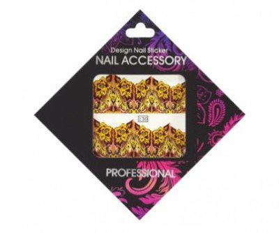 Nail Accessory, Слайдер-дизайн 130Слайдер-дизайн Nail Accessory<br><br>