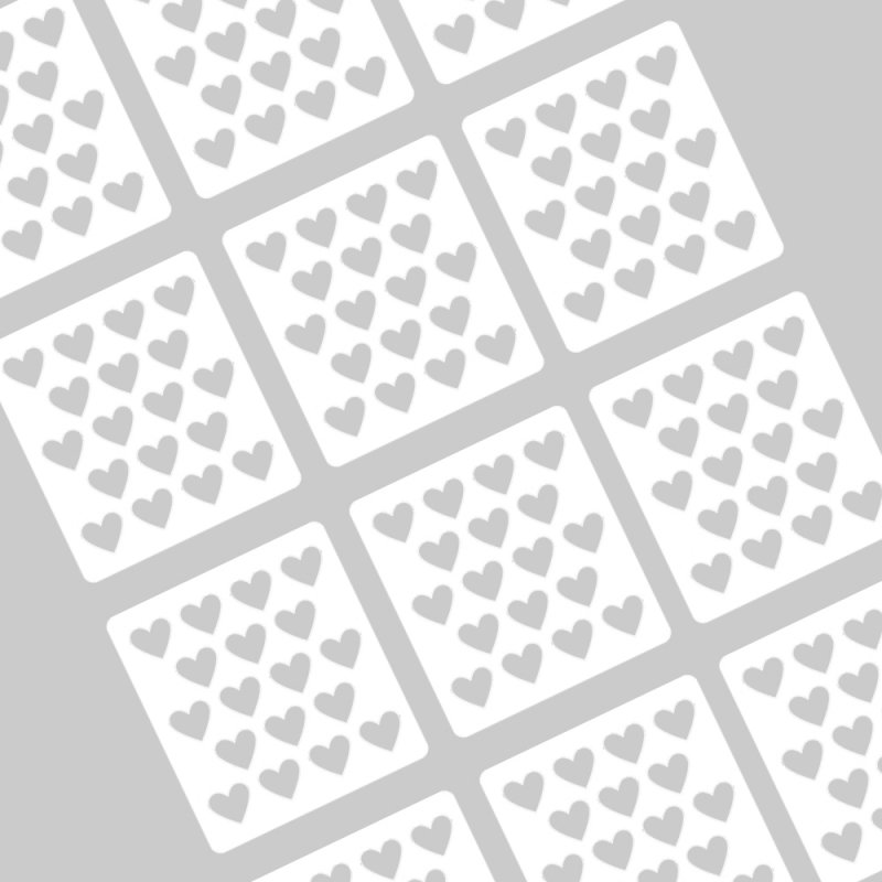 Artnails, Трафареты для маникюра - Сердечки №1Artnails<br><br>