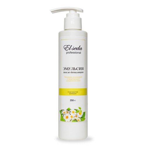 Elseda, Эмульсия после депиляции с экстрактом ромашки, 250млСредства ДО и ПОСЛЕ депиляции<br>Кремовая эмульсия с нежным, приятным запахом является отличным средством по уходу за кожей после эпиляции.<br>
