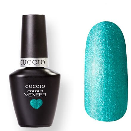 Cuccio Veneer, цвет № 6043 Foutation of Versailles 13 mlCuccio Veneer<br>Гель-лак светло-изумрудный, перламутровый, полупрозрачный.<br>