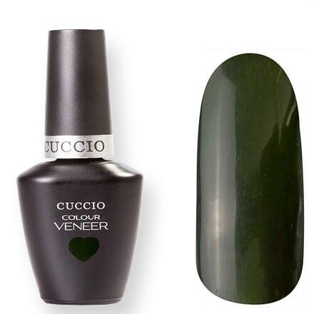 Cuccio Veneer, цвет № 6045 Glasgow Nights 13 mlCuccio Veneer<br>Гель-лак темный травянисто-зеленый, без блесток и перламутра, полупрозрачный.<br>
