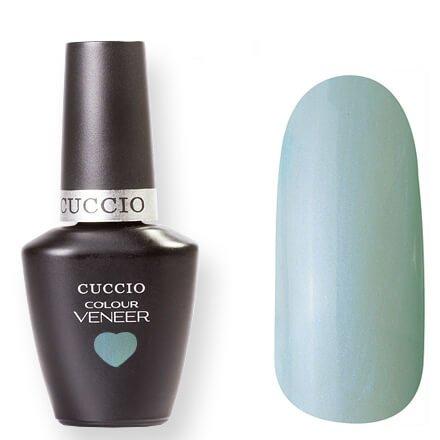 Cuccio Veneer, цвет № 6047 Meet me in Mykonos 13 mlCuccio Veneer<br>Гель-лак пастельно-голубой, с микроперламутром, полупрозрачный.<br>