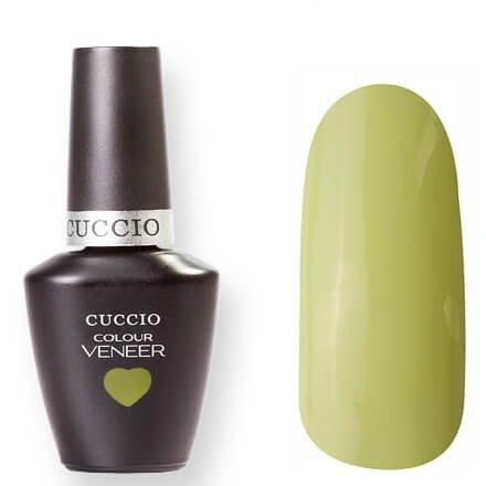 Cuccio Veneer, цвет № 6103 In the Key Lime 13 mlCuccio Veneer<br>Гель-лак пастельный желтый, холодный оттенок, без блесток и перламутра, плотный.<br>