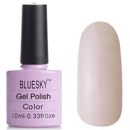 Bluesky Шеллак, цвет № 80502 Negligee 10 mlBluesky 10 мл<br>Гель-лак полупрозрачный с неоновым микроперламутром<br>