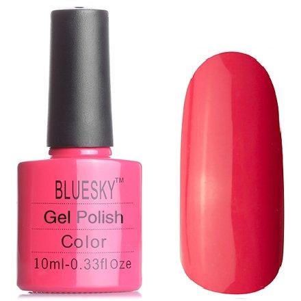 Bluesky, Шеллак цвет № 80505 Tropix 10 mlBluesky 10 мл<br>Гель-лак коралловый, красно-рыжий без блесток и перламутра, эмалевый<br>