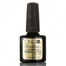 CND, Shellac Duraforce Top Coat - Верхнее покрытие арт. 91421 (7,3 мл.)