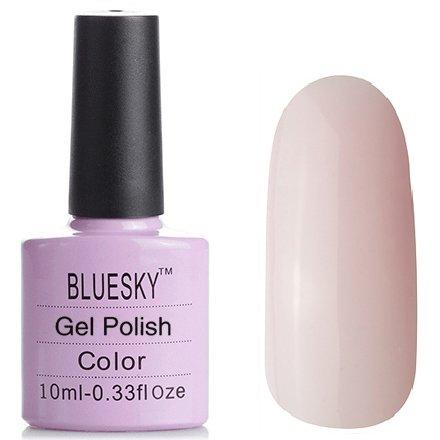 Bluesky, Шеллак цвет № 80504 Romantique 10 mlBluesky 10 мл<br>Гель-лак розовый, без блесток и перламутра, полупрозрачный<br>