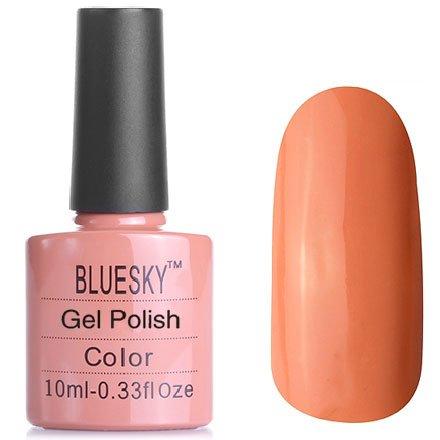 Bluesky, Шеллак цвет № 80514 Cocoa 10 mlBluesky 10 мл<br>Гель-лак цвет кофе с молоком, теплый оттенок, без блесток и перламутра, плотный<br>
