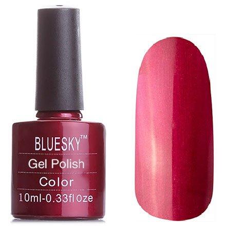 Bluesky Шеллак, цвет № 80515 Masquerade 10 mlBluesky 10 мл<br>Гель-лак цвет спелой вишни с микроблестками, плотный<br>