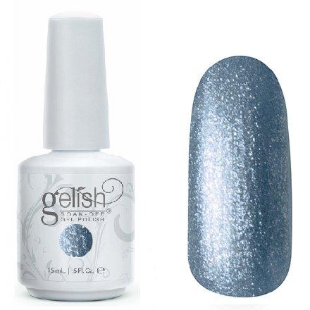 1100003 Rhythm And Blues GelishHarmony Gelish<br>Синий металлик, с большим количеством микро-блесток, плотный<br>