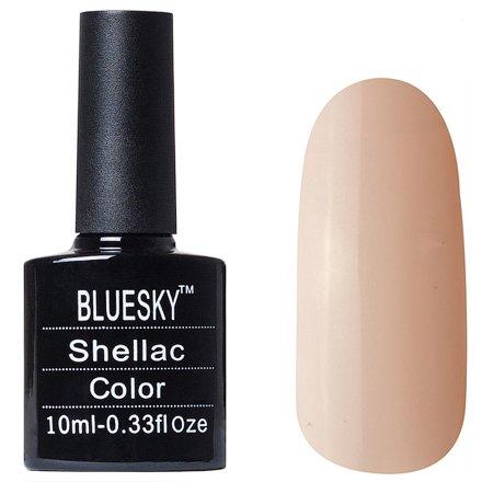 Bluesky Шеллак, цвет № 80564 Bare Chemise 10 mlBluesky 10 мл<br>Гель-лак светло-бежевый, с еле заметным микроперламутром, полупрозрачный, подойдет для френча.<br>