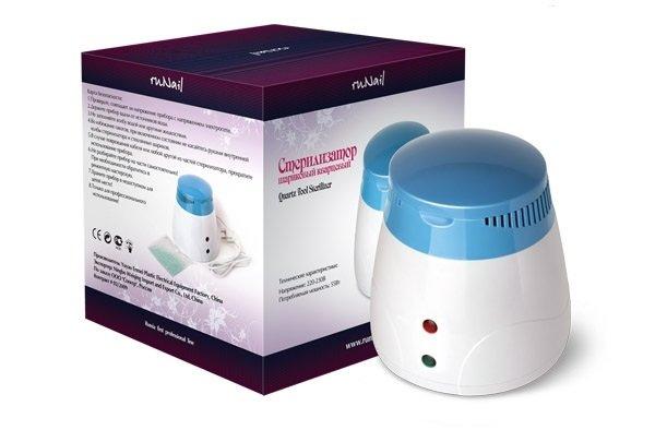 ruNail, Стерилизатор RU-505 (шариковый кварцевый)Оборудование <br>Стерилизатор предназначен для стерилизации маникюрного, косметологического и парикмахерского инструмента.<br>