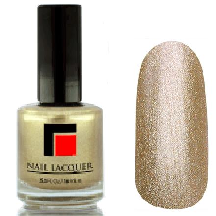 Milv, Лак для ногтей №08Лаки MILV<br>Золото перламутровый металлик, плотный<br>