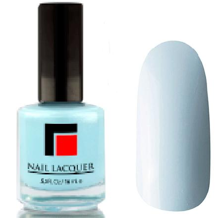 Milv, Лак для ногтей №09Лаки MILV<br>Светло-голубой глянцевый, плотный<br>