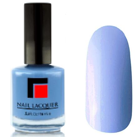 Milv, Лак для ногтей №11Лаки MILV<br>Темно-голубой глянцевый, плотный<br>