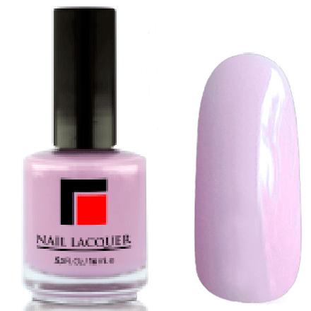 Milv, Лак для ногтей №13Лаки MILV<br>Сиренево-розовый глянцевый, плотный<br>