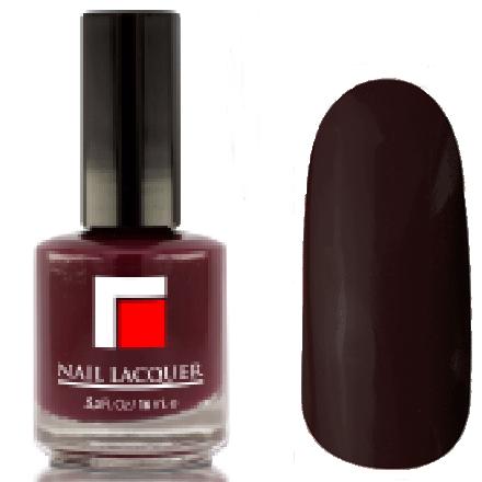 Milv, Лак для ногтей №16Лаки MILV<br>Темно-бордовый глянцевый, плотный<br>