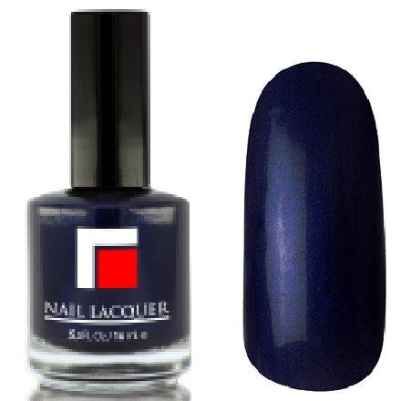 Milv, Лак для ногтей №27Лаки MILV<br>Темно-синий перламутровый, плотный<br>