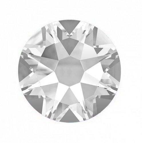 Swarovski Elements, Cтразы Crystal 1,0 мм (30 шт)Стразы<br>Swarovski Elements диаметром 1,0 мм для неповторимого, сияющего маникюра.<br>