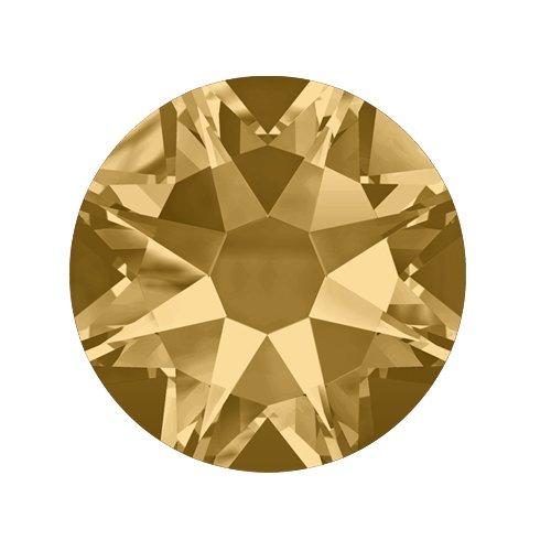 Swarovski Elements, Cтразы Light Colorado Topaz 1,0 мм (30 шт)Стразы<br>Swarovski Elements диаметром 1,0 мм для неповторимого, сияющего маникюра.<br>