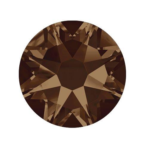 Swarovski Elements, Cтразы Smoked Topaz 1,0 мм (30 шт)Стразы<br>Swarovski Elements диаметром 1,0 мм для неповторимого, сияющего маникюра.<br>