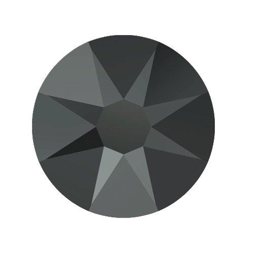 Swarovski Elements, Cтразы Jet Hematite 1,8 мм (30 шт)Стразы<br>Swarovski Elements диаметром 1,8 мм для неповторимого, сияющего маникюра.<br>