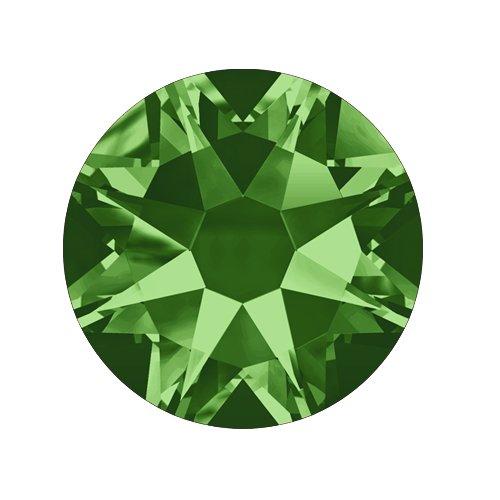 Swarovski Elements, Cтразы Fern Green 2,8 мм (30 шт)Стразы<br>Swarovski Elements диаметром 2,8 мм для неповторимого, сияющего маникюра.<br>