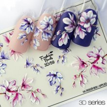 Fashion Nails, Слайдер дизайн - 3D №59
