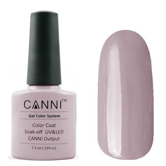 Canni, Гель-лак №18 (7.3 мл)Canni<br>Гель-лак кварцевый, без перламутра, плотный.<br>