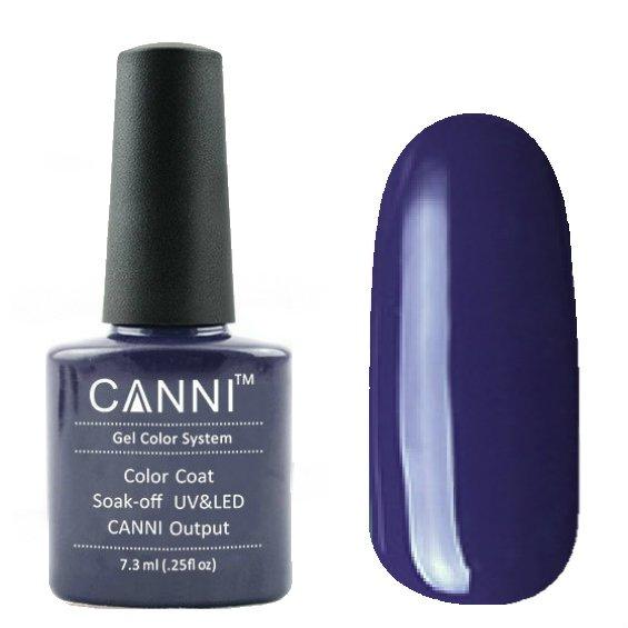 Canni, Гель-лак №30 (7.3 мл)Canni<br>Гель-лак сине-фиолетовый затемненный, без перламутра, плотный.<br>
