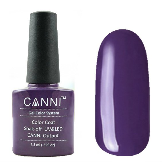 Canni, Гель-лак №32 (7.3 мл)Canni<br>Гель-лак фиолетовый, без перламутра, плотный.<br>