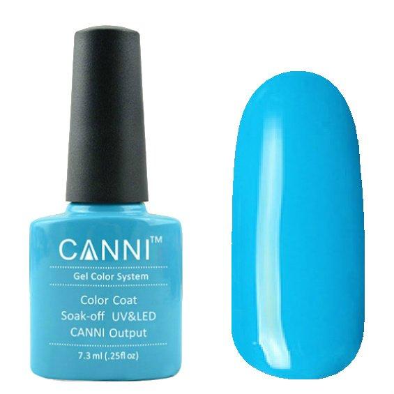 Canni, Гель-лак №36 (7.3 мл)Canni<br>Гель-лак голубой, без перламутра, плотный.<br>