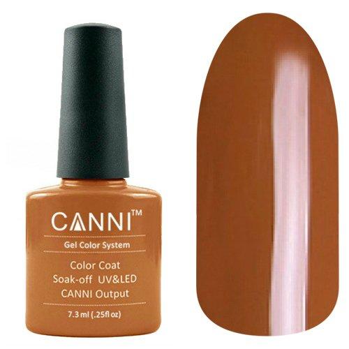 Canni, Гель-лак №16 (7.3 мл)Canni<br>Гель-лак коричневый, без перламутра, плотный.<br>