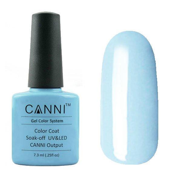 Canni, Гель-лак №38 (7.3 мл)Canni<br>Гель-лак серо-голубой, плотный.<br>