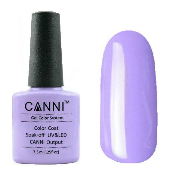 Canni, Гель-лак №67 (7.3 мл)Canni<br>Гель-лак светло-сиреневый, без перламутра, плотный.<br>