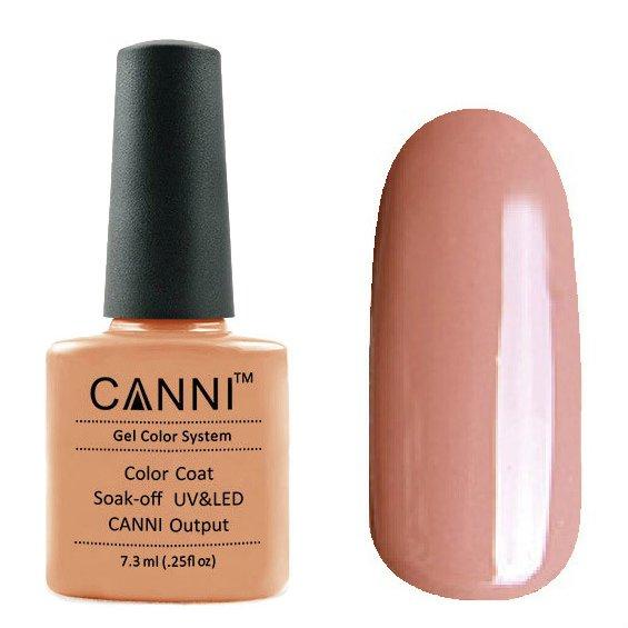 Canni, Гель-лак №89 (7.3 мл)Canni<br>Гель-лак карамельный , без перламутра, плотный.<br>