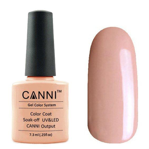Canni, Гель-лак №94 (7.3 мл)Canni<br>Гель-лак карамельная пудра, без перламутра, плотный.<br>