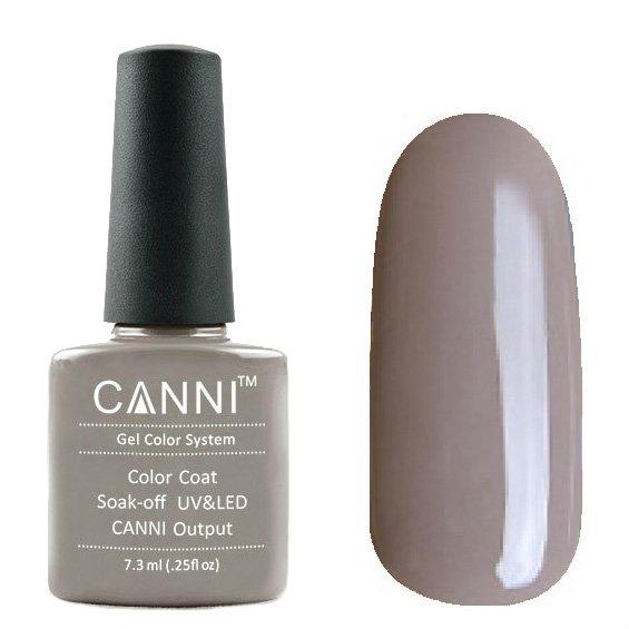 Canni, Гель-лак №128 (7.3 мл)Canni<br>Гель-лак бежевая карамель, без перламутра, плотный.<br>