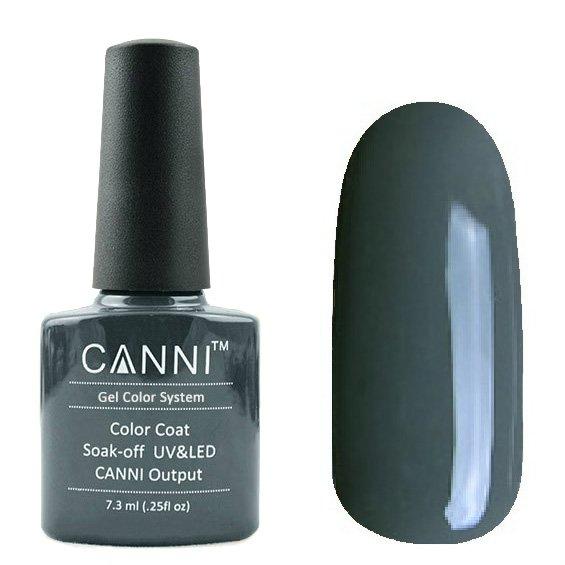 Canni, Гель-лак №133 (7.3 мл)Canni<br>Гель-лак серо-зелёный, плотный.<br>