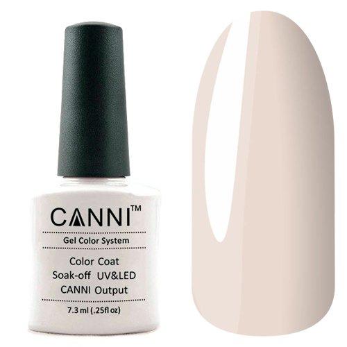 Canni, Гель-лак №145 (7.3 мл)Canni<br>Гель-лак пепельно-серый, плотный.<br>