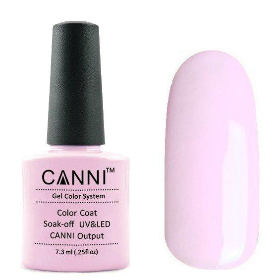 Canni, Гель-лак №146 (7.3 мл)Canni<br>Гель-лак холодный розовый, плотный.<br>