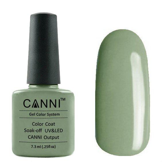 Canni, Гель-лак №153 (7.3 мл)Canni<br>Гель-лак пастельно-зелёный, плотный.<br>