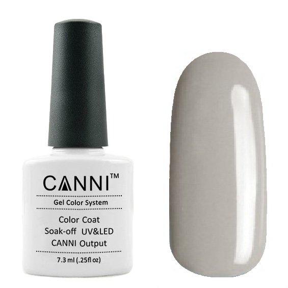 Canni, Гель-лак №163 (7.3 мл)Canni<br>Гель-лак алюминиевый, без перламутра, плотный.<br>