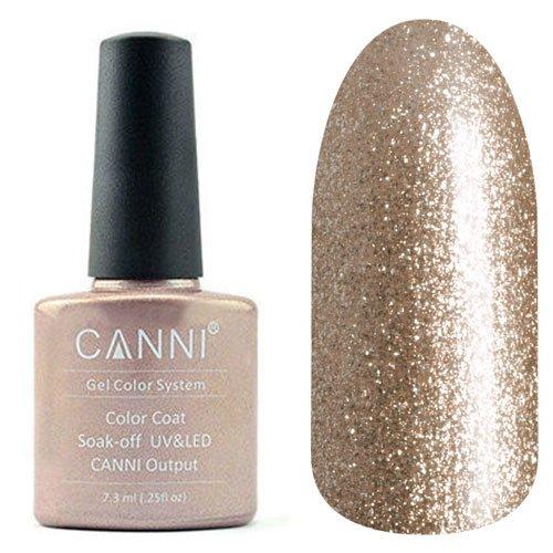 Canni, Гель-лак №201 (7.3 мл)Canni<br>Гель-лак металлик с перламутром, плотный.<br>