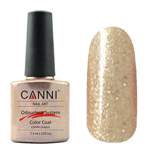 Canni, Odourless Gel Polish - Гель-лак №219 (7.3 мл)Canni<br>Гель-лак золотистый с микроблестками, плотный.<br>