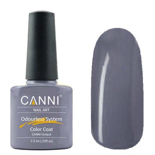 Canni, Odourless Gel Polish - Гель-лак №228 (7.3 мл)Canni<br>Гель-лак темно-серый, плотный.<br>