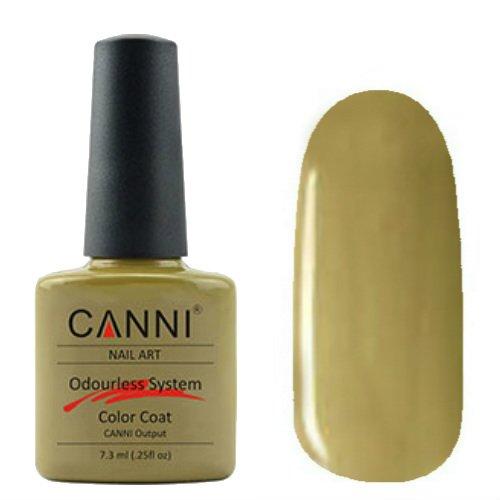 Canni, Odourless Gel Polish - Гель-лак №232 (7.3 мл)Canni<br>Гель-лак оливковый, плотный.<br>