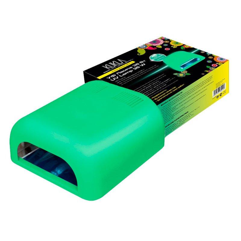 JessNail KUKLA, УФ лампа 36 Вт (зеленая, матовая) (Jessnail)