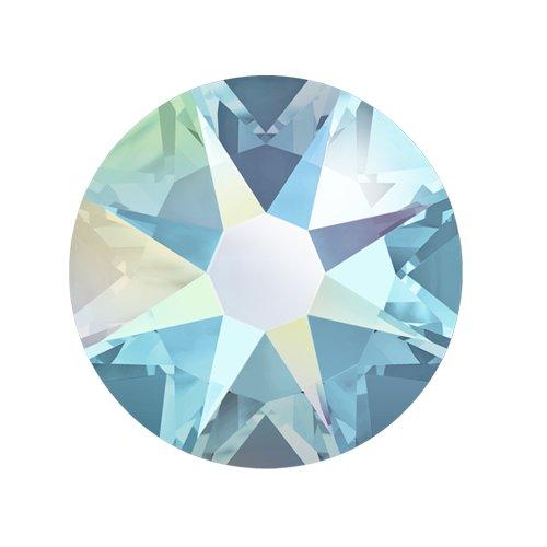 Swarovski Elements, Cтразы Aquamarine Aurore Boreale 2,8 мм (30 шт)Стразы<br>Swarovski Elements диаметром 2,8 мм для неповторимого, сияющего маникюра.<br>