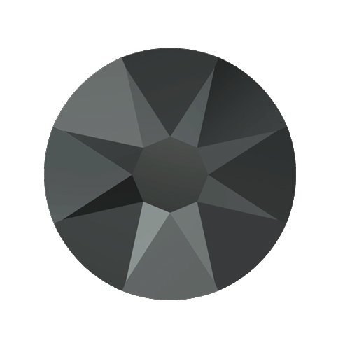 Swarovski Elements, Cтразы Jet Hematite 2,8 мм (30 шт)Стразы<br>Swarovski Elements диаметром 2,8 мм для неповторимого, сияющего маникюра.<br>